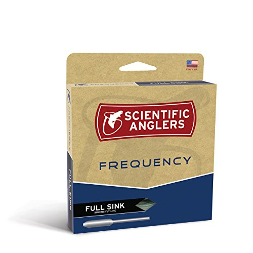 Scientific Angler Frequenz Full sinkend Mittelschneider/I Fly Fishing Line, Fr-si-wf-8-s, Intermediate Atmosphere Blue