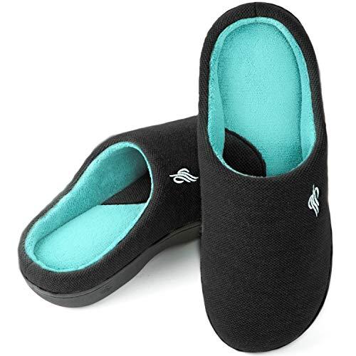 Zapatillas de casa de Espuma viscoelástica para Hombre,EU44-45,Armada Oscura