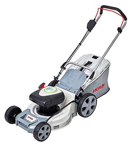 IKRA accu grasmaaier mulchmaaier IAM 40-4325 TwinPower 2x40V opvangbak 50l maaibreedte 43cm