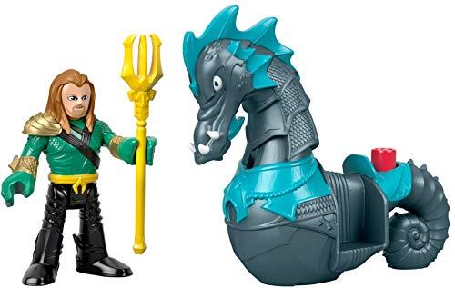 Mattel Imaginext Fisher-Price DC Super Friends Aquaman & Seahorse 4