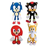 Sonic The Hedgehog - Sonic and Friends 4 Piece Set - 11 INCHES Tall