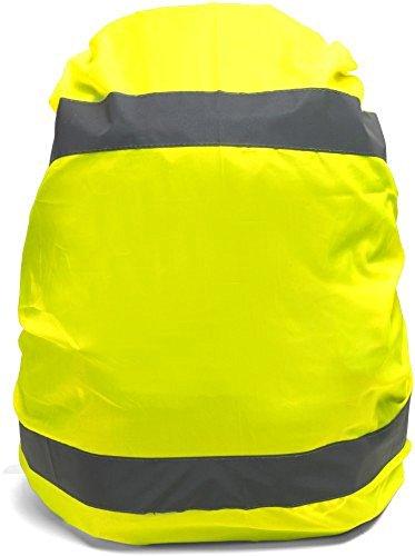 Warnweste/Regenschutz für Rucksäcke mit Reflektorstreifen, inklusive Zugband von presents & more