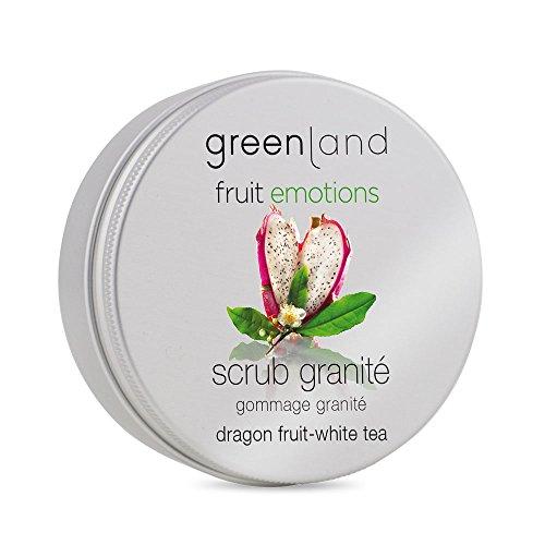Greenland Scrub Granité Drachenfrucht Weißer Tee | Wohlduftendes Body Scrub & Face Scrub in einem | Auch als verwöhnendes Handpeeling geeignet