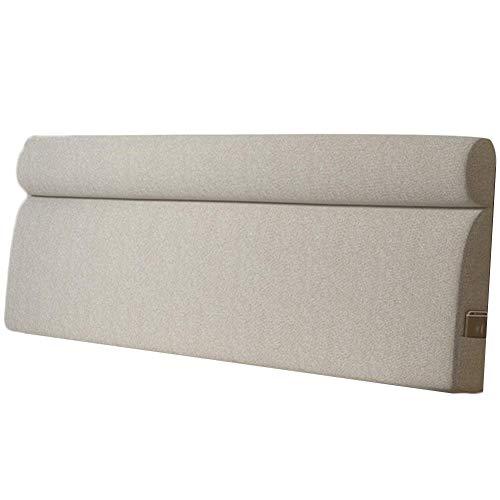 QIANCHENG-Cushion Kopfteil Rückenlehnen Bett Kissen Wedges Rückenlehne Taillenpolster Soft Case Antikollisionskopf Doppelbett Kissen, 5 Farben (Color : #5, Size : 120x58x10cm)