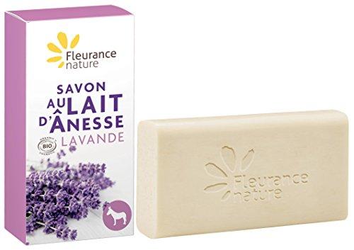Fleurance Nature Jabon Leche De Burra Con Ae Lavanda 100Gr. 1 Unidad 200 g