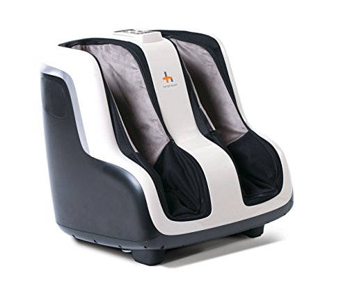 Human Touch Sol Foot and Calf Shiatsu Massager with Patented Figure-8 Technology, Heat, Vibration, and Intensity Setting