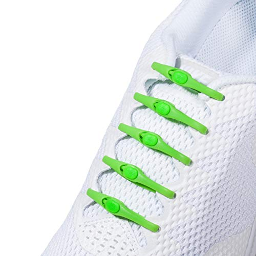 HICKIES Elastische Tie-Free Schuhbänder (2.0 Neu) - Lime