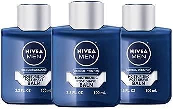Nivea Men Maximum Hydration Moisturizing Post Shave Balm, 3.3 Fl Oz (Pack of 3)