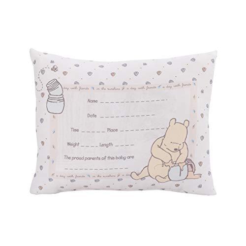 Disney Winnie The Pooh Almohada decorativa de recuerdo – Almohada de nacimiento personalizada