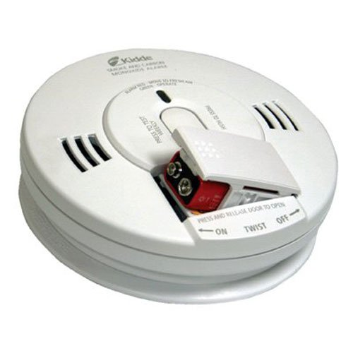 Kidde KN COPE D Battery Operated Photo Electric Combo Smoke and Carbon Monoxide Talking Alarm