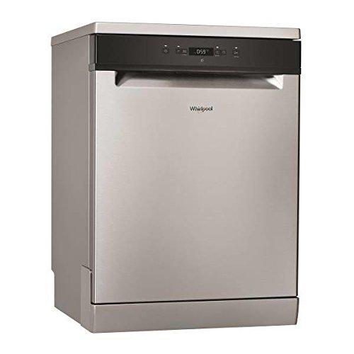 Whirlpool WRFC 3C26 X lave-vaisselle Autonome 14 places A++ - Lave-vaisselles (Autonome, Acier inoxydable, Taille maximum (60 cm), Noir, Boutons, 1,3 m)