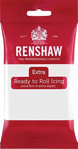 Renshaw - Fondant (Pasta de Azúcar) - Color Blanco - 250 gr