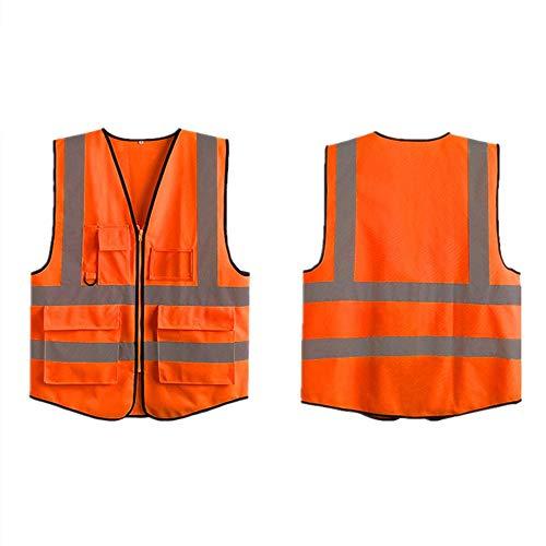 Chaqueta de Seguridad en el Trabajo reflectante, Chaleco reflectante Chaleco