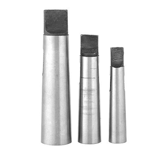 Jadeshay Morsekegel Bohrer-3pcs / Set Taper Adapter Reduzierung Bohrfutter Hülsen, MT1-MT2 MT2-MT3 MT3-MT4