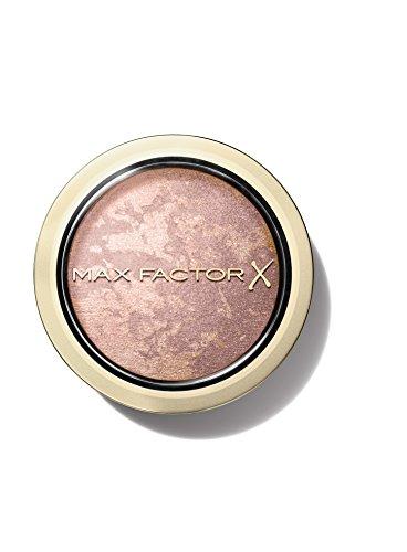 Max Factor Compact Blush Nude Mauve 10 – Marmoriertes Rouge für den perfekten Glow – Multitonales Puder Blush – Farbe Hellbraun – 1 x 2 g