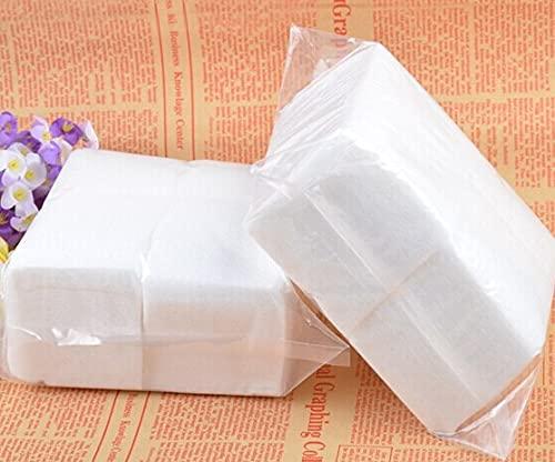 Freenfitmall Removedor de esmalte de uñas almohadillas de algodón, toallitas sin pelusas, removedor de puntas de gel UV acrílico (400 unidades)