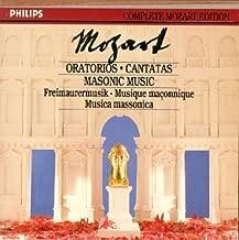 Oratorios & Masonic Music Philips Complete Mozart Edition, Vol. 22