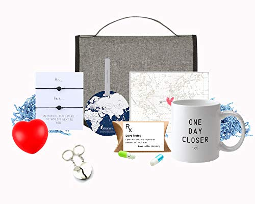 LONG DISTANCE RELATIONSHIP GIFTS | THINKING OF YOU | COUPLES ROMANTIC ACROSS THE MILES GIFT SET (unisex)