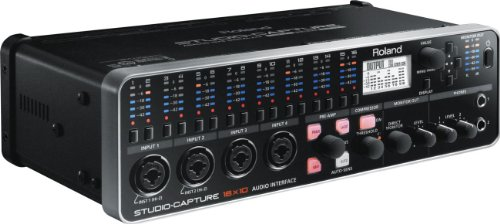 Roland STUDIO-CAPTURE | Flagship 16 x 10 USB 2.0 Audio Interface with 12 Premium Mic Preamps (UA1610)