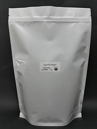Superfoods2go! Espirulina en Polvo, 1 kg