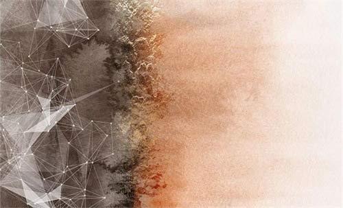 Modern Tapijt Geometrisch Lijn Verbinding Ontwerp Tapijt Extra Groot Klein Medium Rechthoekig Formaat Vloermat voor Woonkamer Slaapkamer Keuken,160x230cm(63x91inch)