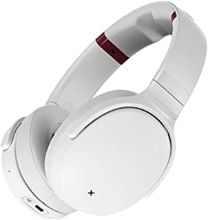 PXYUAN Bluetooth Wireless On-Ear Headphones, Active Noise Reduction Voice Call-White