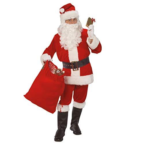Rubie's Costume de Père Noël en Velours Officiel - Taille Standard Adulte