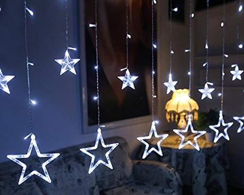 GFSDDS Weihnachtsbeleuchtung Led Starlight Weihnachtsbeleuchtung Indoor/Outdoor Dekoration, Weiß