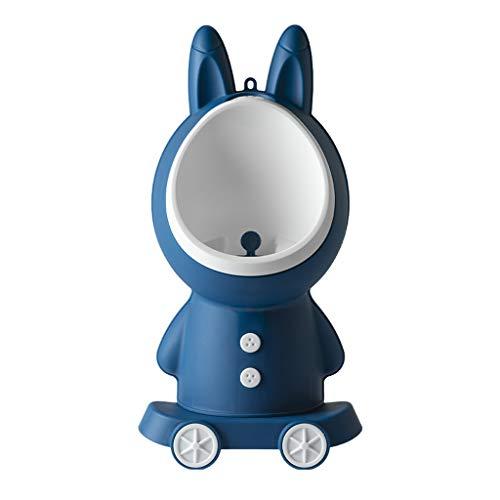 Asiento para niños pequeños Orinal bebé Urinario Formación de muchacho del niño con divertido Torbellino Objetivo lindo conejo entrenamiento...
