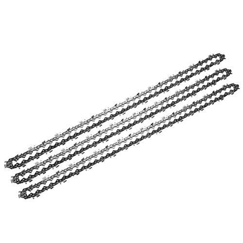 ZHANGAO 3pcs .325 058 76DL Chainsaw Chains For Baumr-Ag SX62 SX66 62CC 66CC Chain Saw Tool accessories