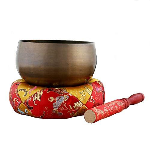 WYYSYNXB Handschlaginstrument Klangschale Meditationsschüssel 62 Nationalen Standard Neues Kupfer,003,XXL