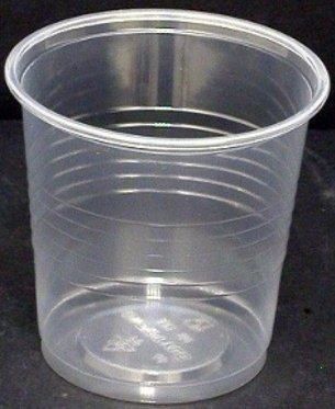 Bicchieri di plastica trasparenti 166cc - 30 confezioni da 100pz