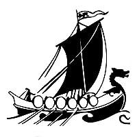 Yang1995 海賊船継手PVCビニールデカールをリードおかしい車のステッカー (Color Name : Black)