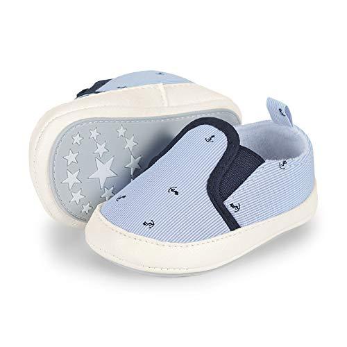 Sterntaler Jungen Baby-Schuh Slipper, Blau (Himmel 2301926), 17-18 EU