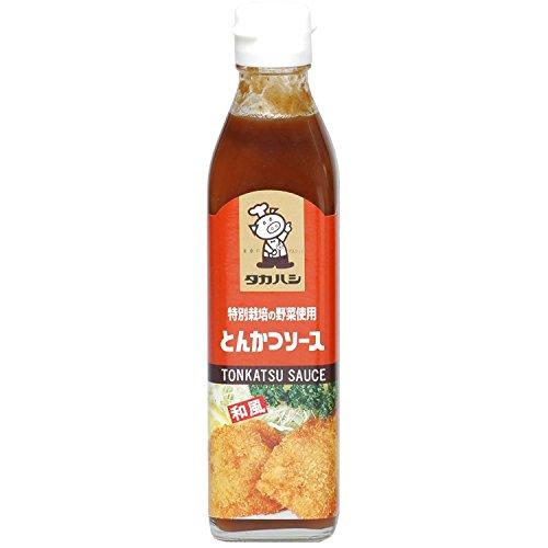高橋ソース『特別栽培の野菜使用 とんかつソース』
