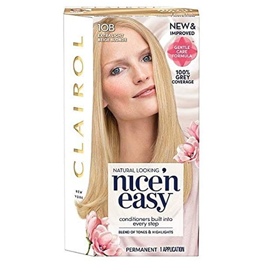 階段公平前に[Nice'n Easy] Nice'N簡単10Bは余分なライトベージュブロンド - Nice'n Easy 10B Extra Light Beige Blonde [並行輸入品]