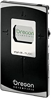Oregon Scientific MP210/BL512C 512 MB Micro Thin Card-Sized MP3 Player with FM & Voice Recorder