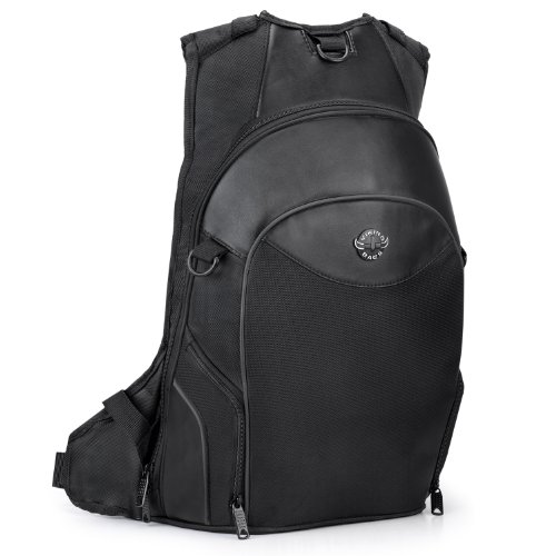 Best motorcycle backpack with helmet holder