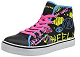 Heelys Damen Veloz Hohe Sneaker, Schwarz (Black/Rainbow/Scribble Black/Rainbow/Scribble), 39 EU