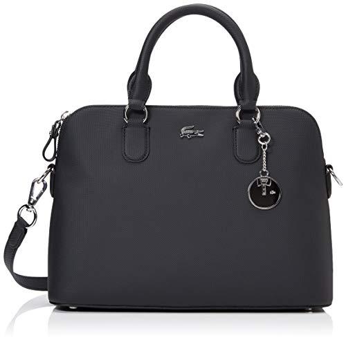 Lacoste Daily Classic Sac porte epaule Femme, Noir (Black), 12x23x32 cm (W x H x L)