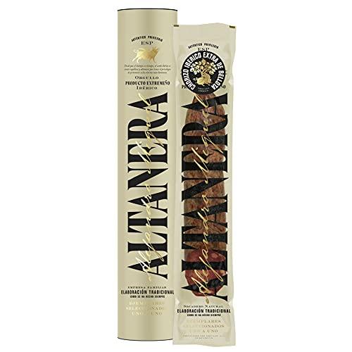 Altanera - Chorizo de Cebo Ibérico   550 gr Aprox.   Embutidos Receta Tradicional de Sabor Equilibrado y Textura Jugosa   Hecho en España