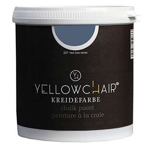 Kreidefarbe yellowchair 1 Liter ÖKO für Wände und Möbel Shabby Chic Vintage Look (No. 227 Pflaume pflaume)