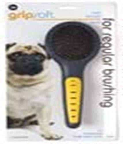 JW Pet Company GripSoft Pin Brush Dog Brush, Small