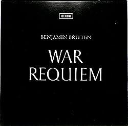 ブリテン:戦争レクイエム(UK DECCA,SET252/3)(長岡鉄男の外盤A級)[ベンジャミン・ブリテン][LP盤]