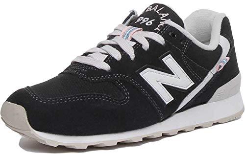 New Balance WR996-D Sneaker Damen schwarz/weiß, 8 US - 39 EU - 6 UK
