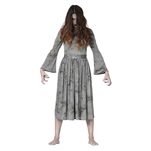 FIESTAS GUIRCA Disfraz Mujer niña con Poderes Paranormal y Largo Pelo Talla l