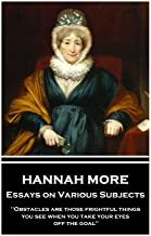 Hannah More - Essays on Various Subjects: