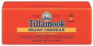 Tillamook Cheese 2lb Baby Loaf (Choose Flavor Below) (Sharp)