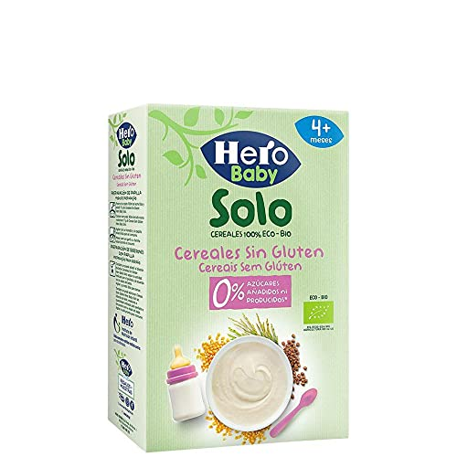 Papilla Cereales Sin Gluten Hero Baby Solo 220 g