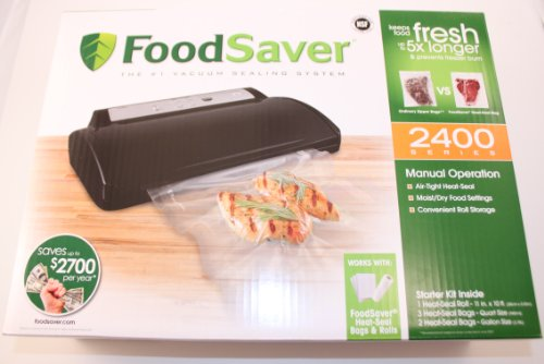 Foodsaver 2461-Features(Item 844607) Advanced Design Vacuum Food...
